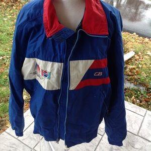 Vintage Mens America cup xxvii Pepsi jacket.